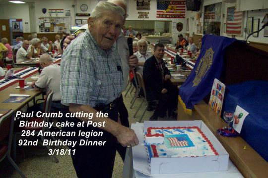 Belleview Fl Post 284 Legion Birthday Legiontown U S A