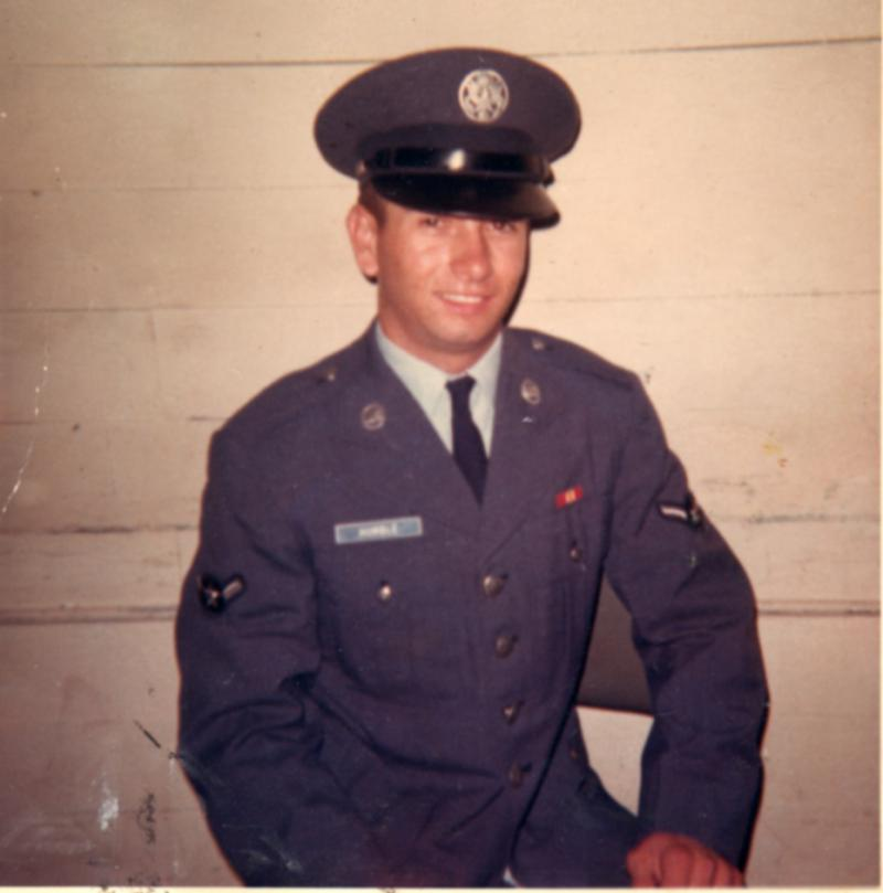 Jim Humble, Basic Training, Lackland Air Force Base 1967