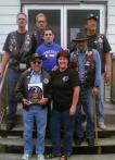 LEGION RIDERS INDUCT OLDEST RIDER IN COUNTRY