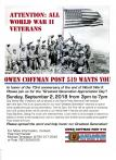 "Post 519 and K6TAL sponsors ""Greatest Generation Appreciation Day"""
