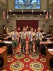 Eagle Scout Recognition Day at Missouri State Capitol
