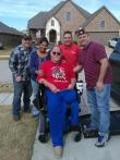Member of Post 100 receives handicapped van for Thanksgiving