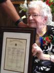 Army veteran Clara Smith - three generations of Legionnaires