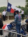Post 178 observes Memorial Day at Veterans Memorial in Frisco Commons Park