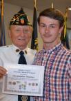 High School Graduate Enlistees Honored