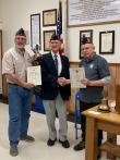 James Breniser, Navy veteran, achieves 75 years as an American Legion member