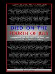 Died on the Fourth of July