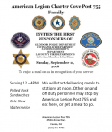 American Legion to Host First Responders Recognition