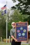 Nebraska gets new rest area signs honoring Veterans