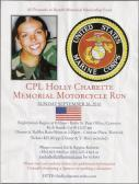 CPLHolly Charette Memorial Motorcycle Run
