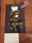 Patriotic drawing