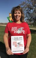 Walked 300 Miles for Hope