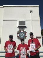 100 miles for veterans and children