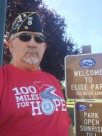 Completed 100 Miles for Hope, walking!