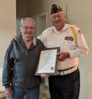 Ness brothers serve American Legion combined 110 years