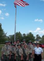 Boy Scout Troop 224 Flag Raising