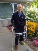Headed for 100 miles after hip-replacement surgery!