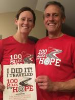 100 miles running, each, for our veterans!