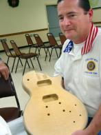 Guitar to Bear Legionnaire's Name