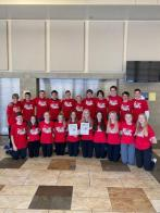 Kindred cross-country team participates in 100 Miles walk