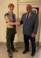 Missouri's Eagle Scout Recognition Day at State Capitol