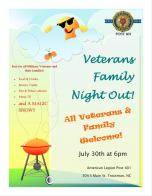 Troutman (NC) Post 401 Family Night Celebration