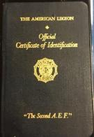 Passports issued by State Department honoring those attending the 1927 convention in Paris