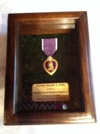 World War II veteran's Purple Heart returned home at last