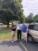 Some job offers to homeless veterans come with a donated car to get to work