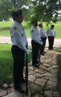 American Legion honor guard is a dedicated group