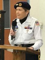 Holley-Riddle Post 21 Honor Guard takes Four Chaplains story to senior center