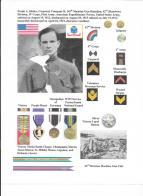 WWI veteran Frank Alexander Sladey, Rainbow Division 42nd