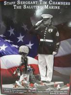Saluting Marine joins Riders in California