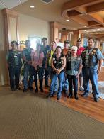 Francis Scott Key American Legion Riders Post 11 conducts annual delivery of WWII veteran membership cards