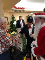 Parma (Ohio) Post 572 brings Christmas cheer to veterans and residents of nursing homes