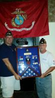 San Diego Post 731 returns veteran's lost shadow box