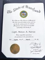 Maryland honors fallen Marine and Naval Academy cadet
