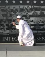 Papa-Coadjutor of Rome visits North Dakota Veterans Memorial