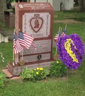Purple Heart Memorial dedicated in Freeland, Pa.