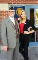 Miss America supports veterans at job fair