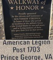 Post 1703 donates brick