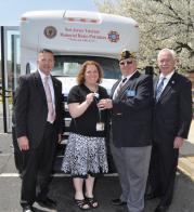 American Legion coordiates veterans bus donation