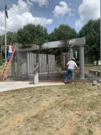 Monessen war memorial restoration