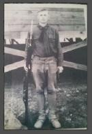 My grandfather Robert Pergson, World War I veteran