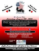 4th annual American Legion Post 382 ride for homeless veterans