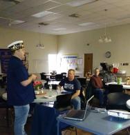 Legion College graduate engaging new members through training