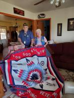 The 100 Centennial Quilt fundraiser
