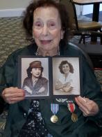 Honoring a WWII female Marine in Massachusetts