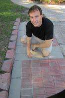 Last laser-engraved bricks placed in Pershing Square