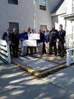 Detachment of Vermont 20th-anniversary Dodge House donation